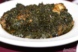 Zoewee's- Potato Greens (Vegetable Oil) with Rice